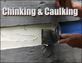 Chinking And Caulking  Fauquier County, Virginia