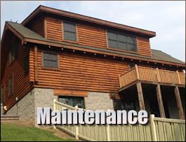 Log Home Maintenance  Fauquier County, Virginia