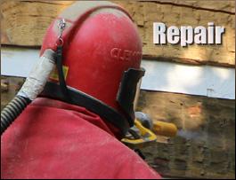 Log Home Repair  Fauquier County, Virginia
